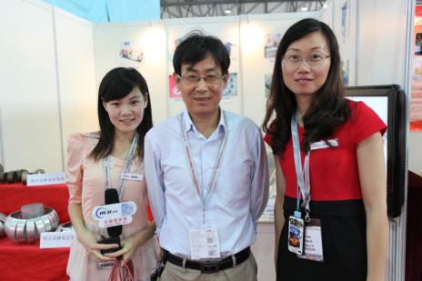 2014铝工业展:中国铝业网采访太仓贝斯特机械设备有限公司纪实