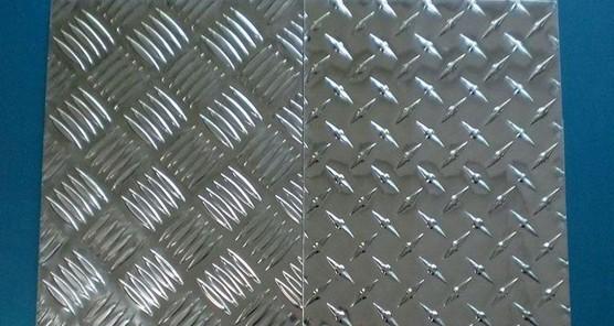 五条筋花纹铝板5052材质