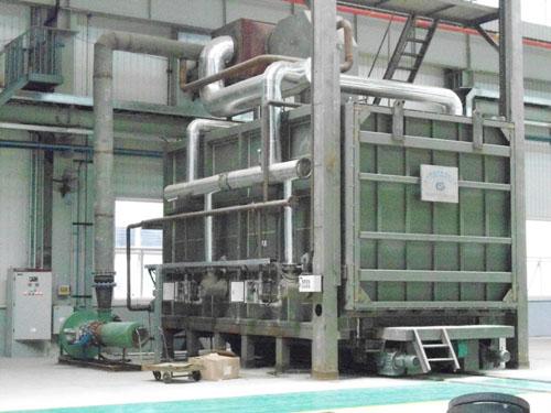 铝合金淬火炉等工业炉的结构和控制系统介绍