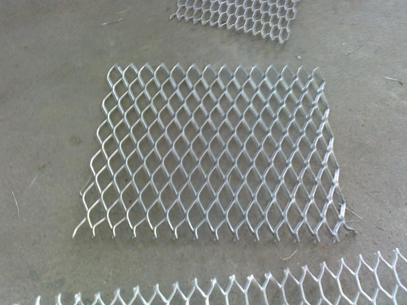 铝型材边框菱形网板幕墙网板吊顶