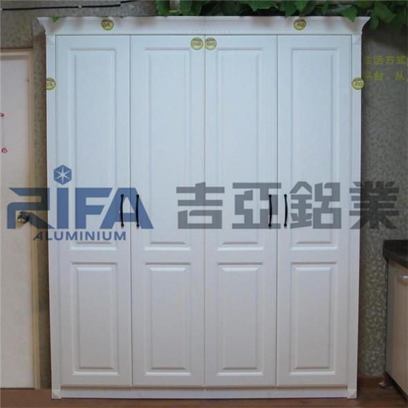 佛山市吉亚铝业有限公司专业生产加工铝合金衣柜平开门,平开门铝型材