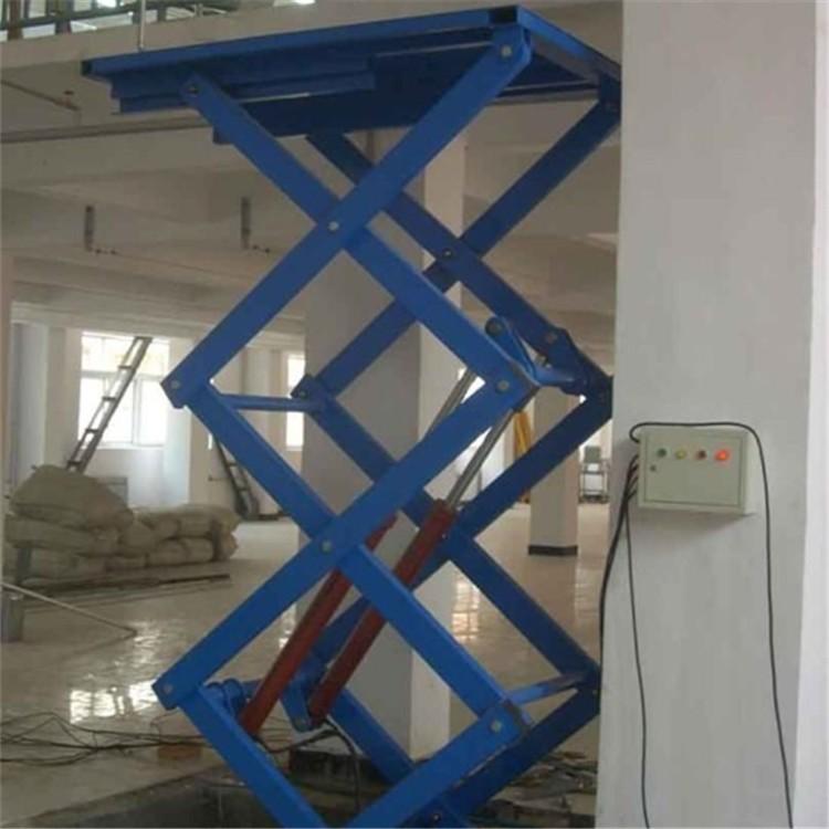 固定式液压升降货梯图片