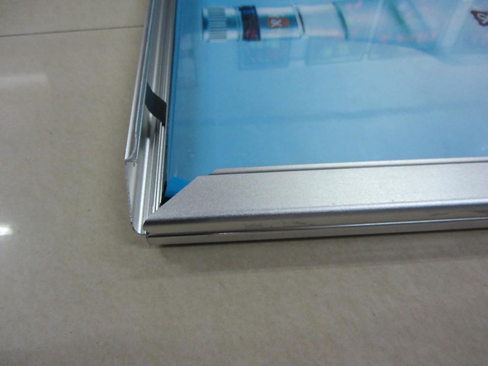 开启式铝合金边框  开启式铝型材亮银边框丨开启式铝