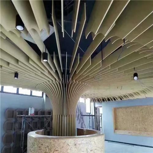 欧式弧形造型吊顶