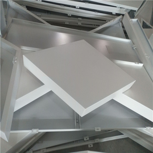 5mm铝单板价格 室内天花吊顶聚酯铝单板