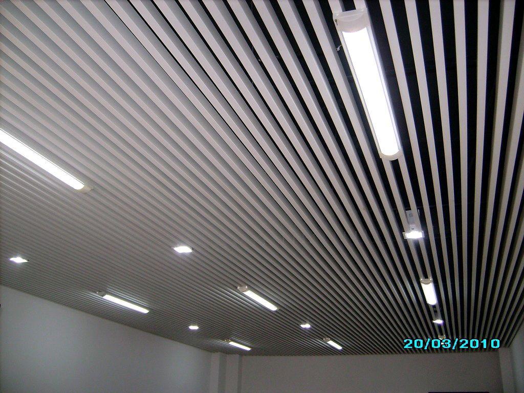 30100规格u型铝合金白色格栅天花