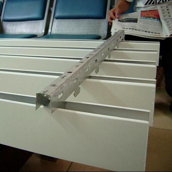 u型铝方通价格 铝方通批发 白色u型铝方通