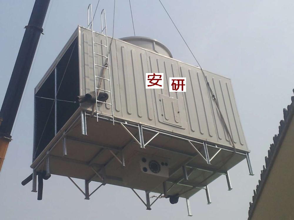 玻璃钢冷却塔,玻璃钢方形冷却塔,玻璃钢横流方型冷却塔,超低噪音方形