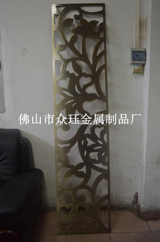 【欧式铝雕花镂空屏风