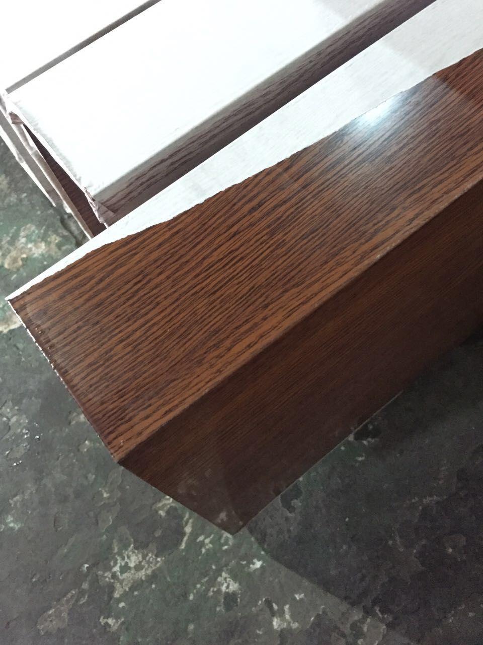 木纹铝方通高强度 供应特大方管铝型材