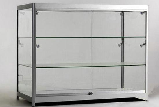 供应展台展柜边框铝材 铝合金展柜材料批发