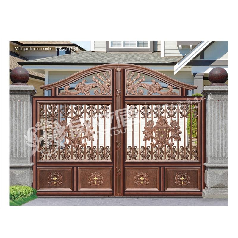 欧式复古铝艺庭院门