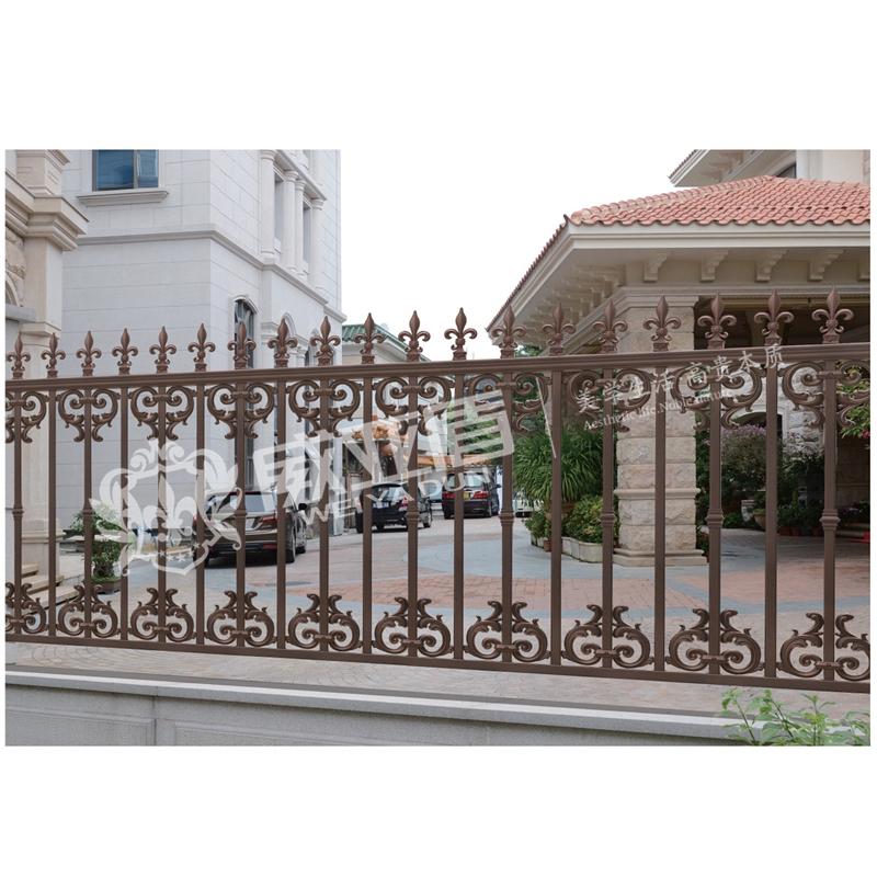 欧式围墙护栏铝合金