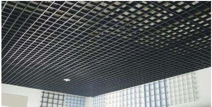 铝格栅吊顶天花的规格 专销木纹凹槽铝格栅