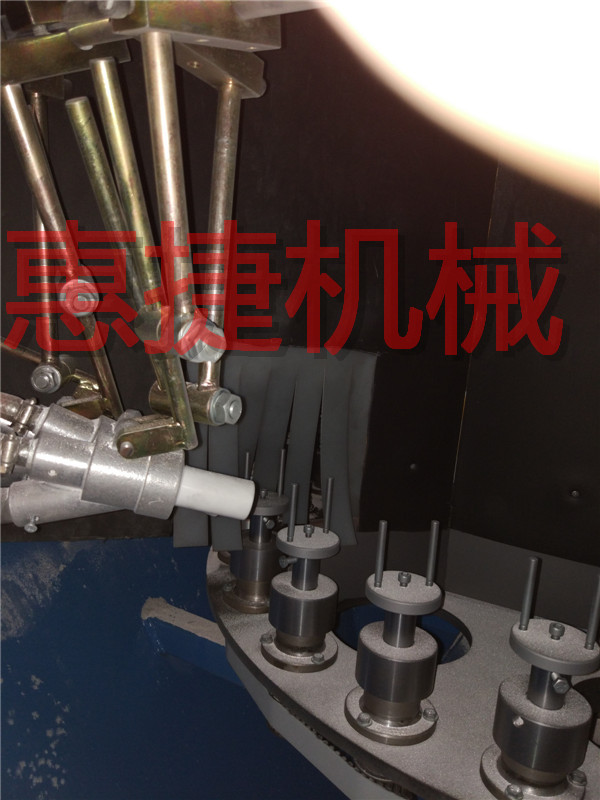 铝件、铝管喷砂加工-转盘自动喷砂机