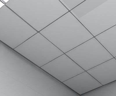 天花铝扣板吊顶效果图 供应多种规格铝扣板
