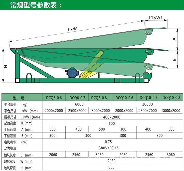 8吨登车桥  西安固定登车桥价格