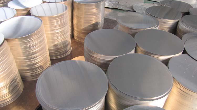 0.5厚的铝圆片一吨的价格是多少钱