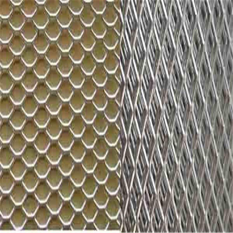 铝板拉伸网_菱形铝板拉伸网片铝板菱形片