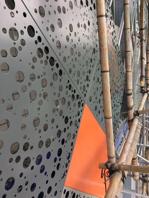 供应外墙渐变孔铝单板-铝单板厂家价格