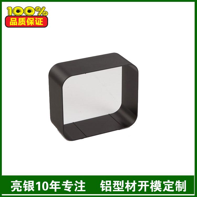 方管铝型材加工厂家 亮银铝制品