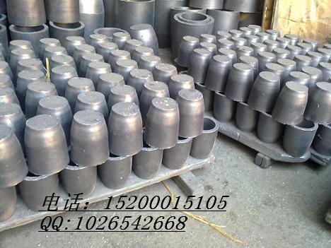 供应高密度碳化硅石墨坩埚 专业熔铝