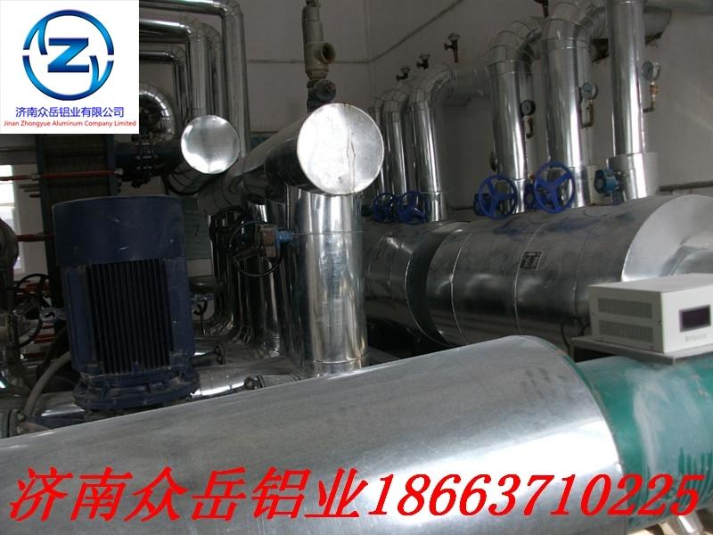 电厂、化工厂、油田专用防锈铝皮-保温铝卷