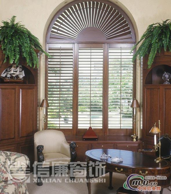 实木百叶窗订做,木质百叶窗 ,欧式百叶窗厂家上门服务