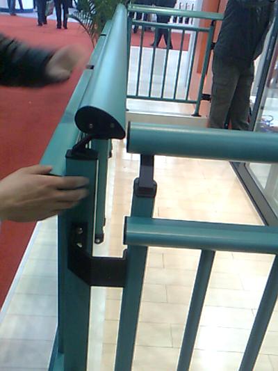 铝合金护栏 铝合金护栏型材 铝合金护栏图片