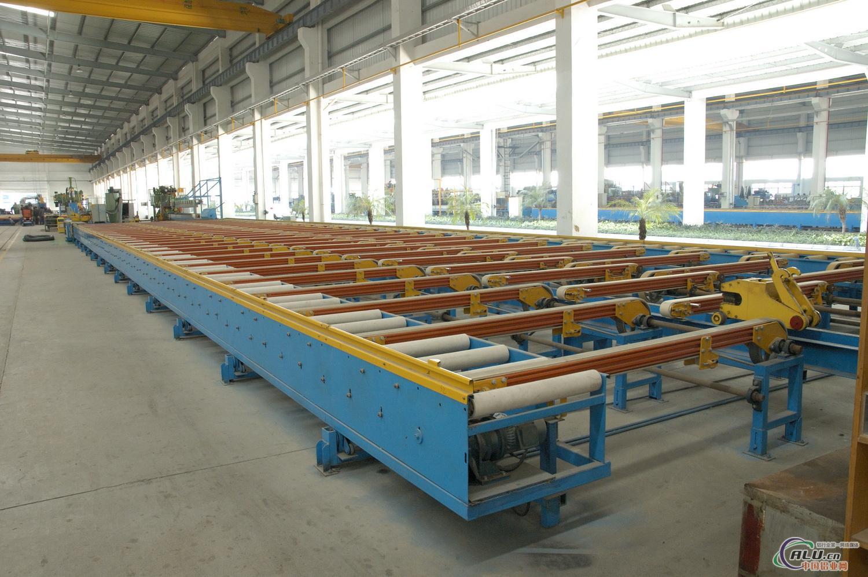 挤压生产线冷床佛山市苏粤机械制造有限公司