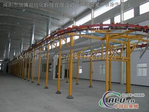 铝型材喷涂生产线