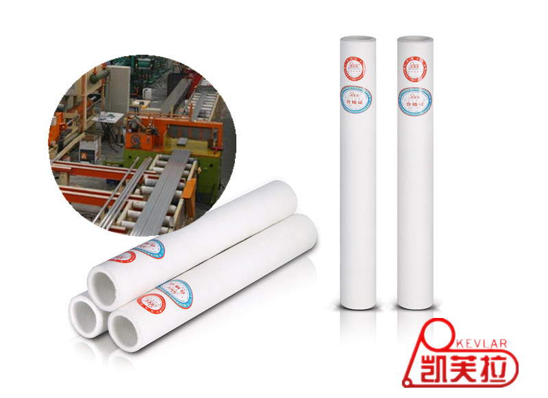 Polyester Heat-resistant Felt Roller Sleeve for Finish Cut Saw