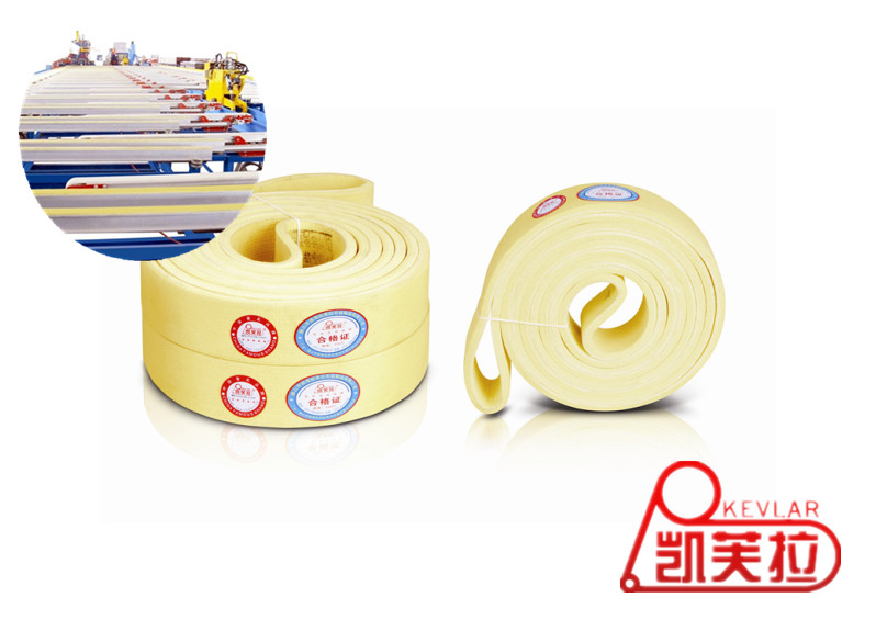 Kevlar Heat-resistant Seamless Felt Belt for Aluminium Cooling Table