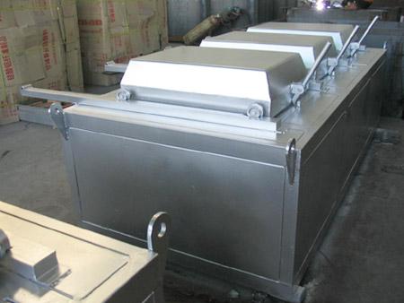 Simple box type die furnace