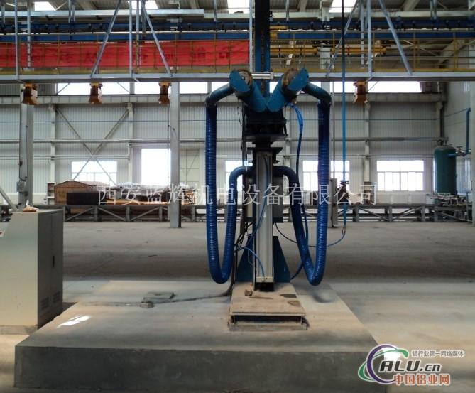 铝导杆清刷机