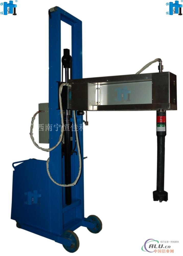 【供应xpc200移动式液压升降铝液除气机(图)】图片
