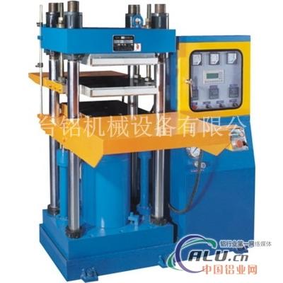 液压硫化机,半自动硫化机-拉伸机-中国铝业网图片