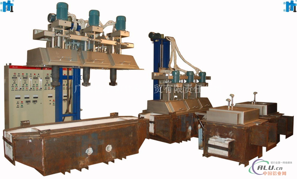 三转子铝液在线式精炼系统
