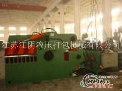 DBJ400废铝压缩剪切机