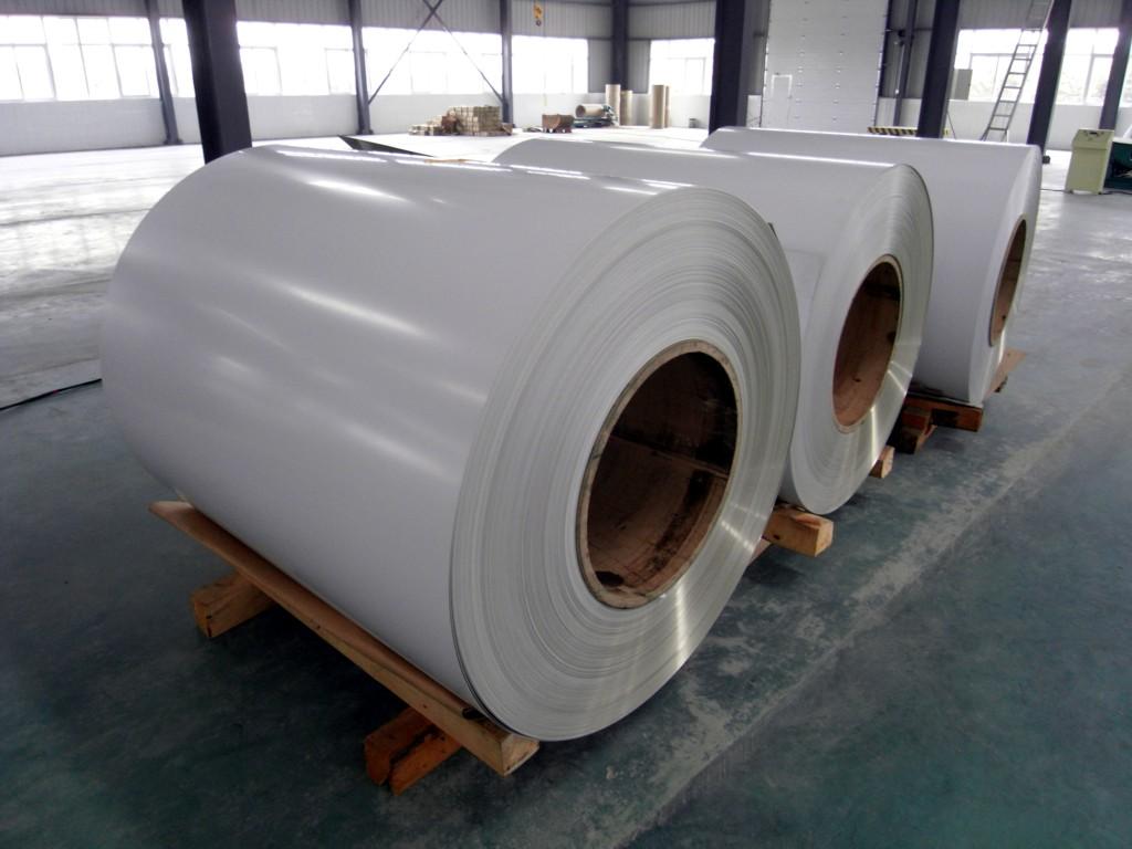 PE coated aluminum
