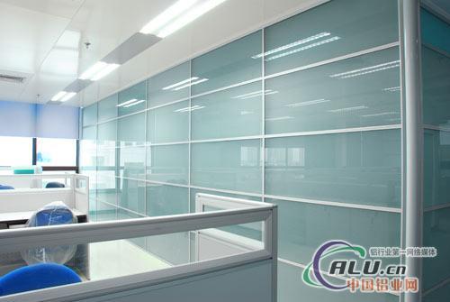 供应办公隔墙铝型材