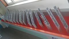 Rail vehicles, aluminum, aluminum conductor rails, the converge-wires