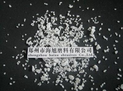 Refractory grade white fused alumina