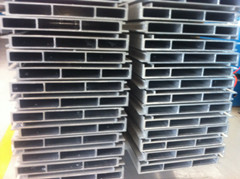 aluminum with high-speed ships with muscle gusset plate profile, Marine over wide aluminum plate