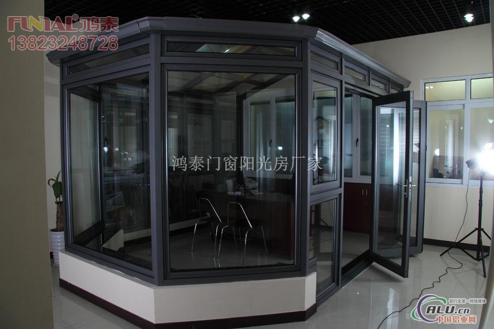 高档铝合金玻璃门-铝合金门窗-中国铝业网