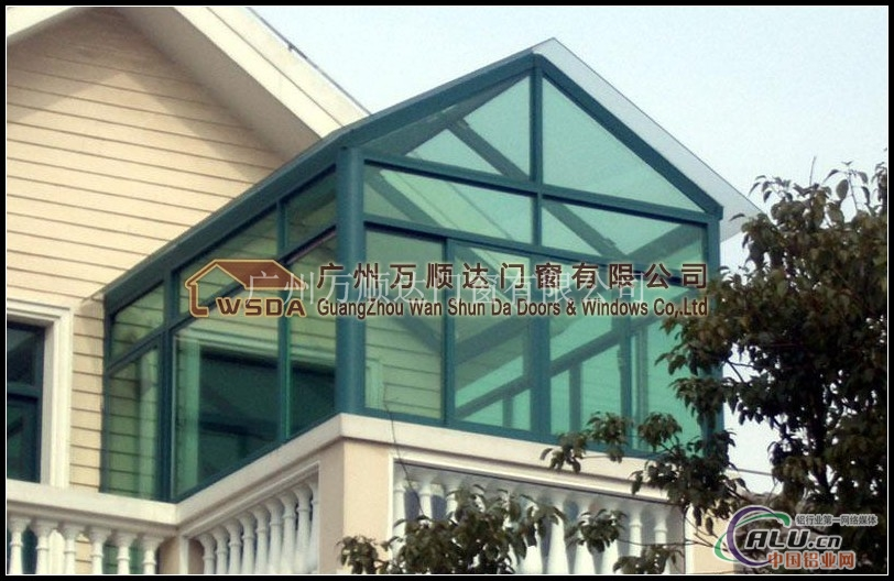 广州万顺达门窗有限公司始终致力于中高端门窗,钢结构玻璃房,积累
