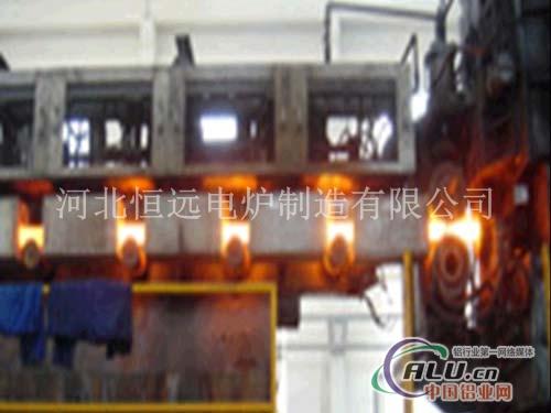 铝棒中频调质生产线