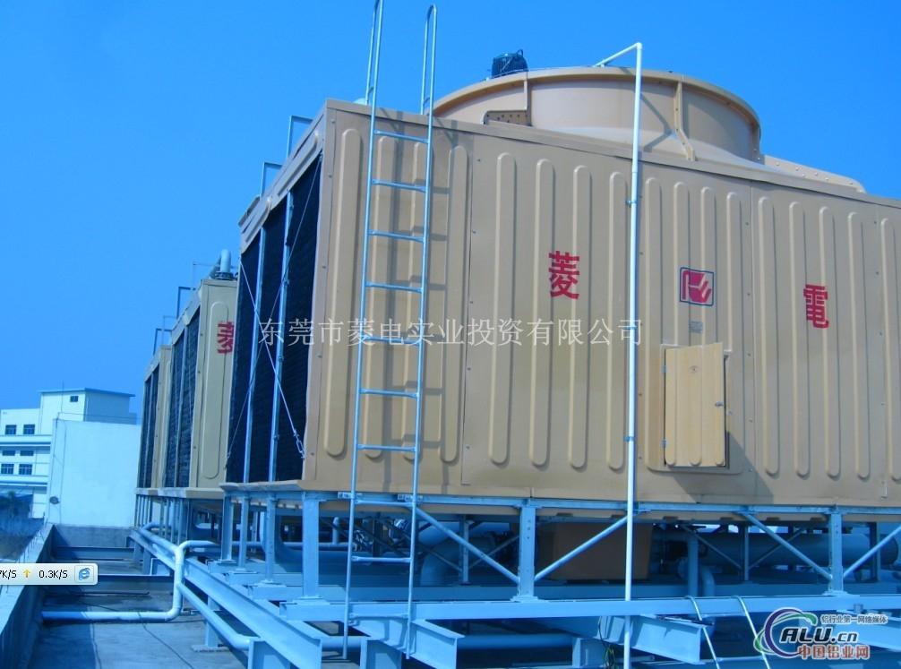 菱电逆流高温方形冷却塔400t