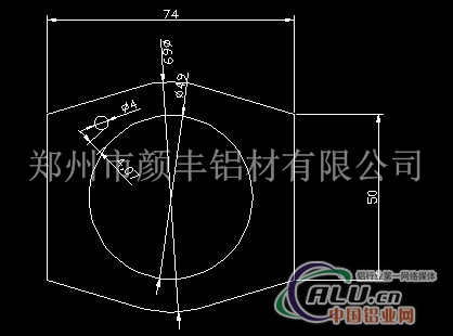 铝合金气缸型材指导价图片