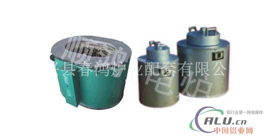 坩锅熔化电阻炉